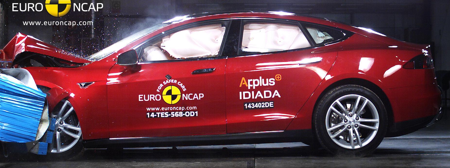 Euro NCAP har gett Tesla Model S fem stjärnor