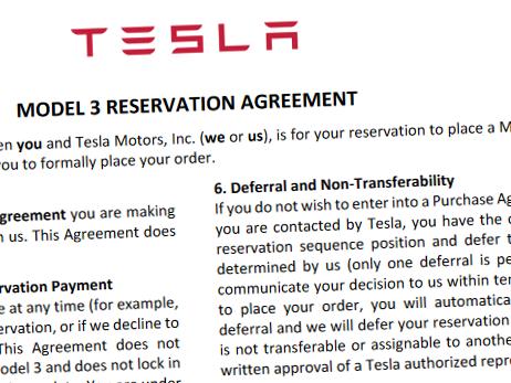 Tesla Model 3 kan beställas från och med den 31 mars.