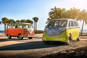 """Vokswagen måste leverera fler elbilar i """"Sunny California""""."""