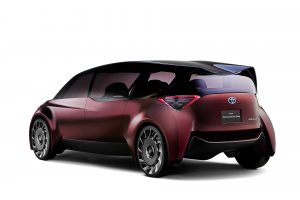 De luftlösa däcken satt på vätgaskonceptet Fine-Comfort Ride som Toyota visade upp i Tokyo.