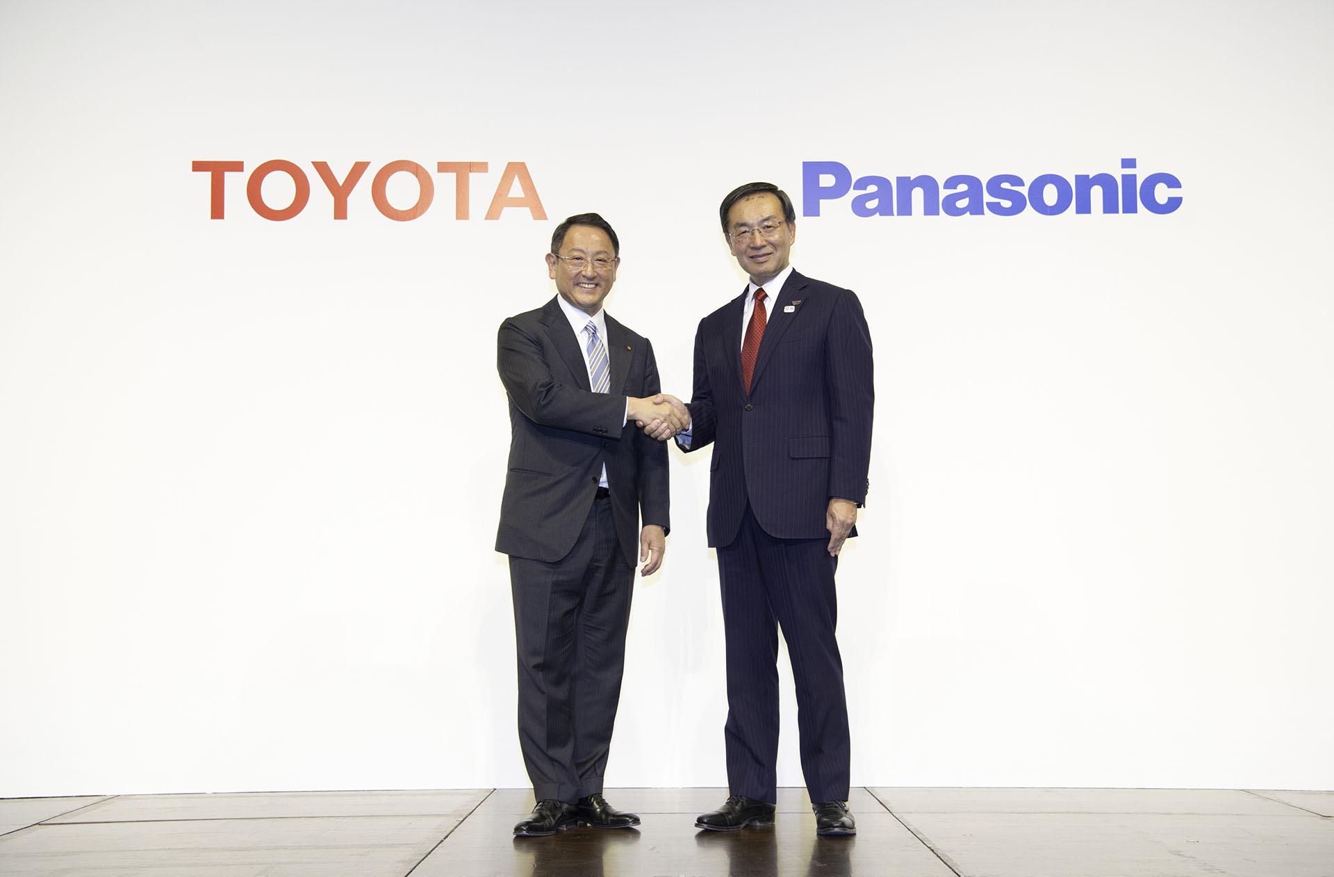 Toyota och Panasonic är två av företagen i Japans batterisatsning. Foto: Toyota