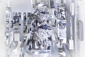 Till en början tillverkas 400 elmotorer per dag. Foto: Audi