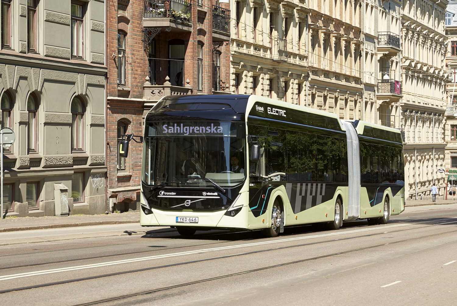 Volvo Electric Articulated Concept Bus