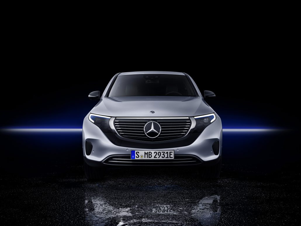 Der neue Mercedes-Benz EQC: Der Mercedes-Benz unter den Elektrofahrzeugen The new Mercedes-Benz EQC: The Mercedes-Benz among electric vehicles