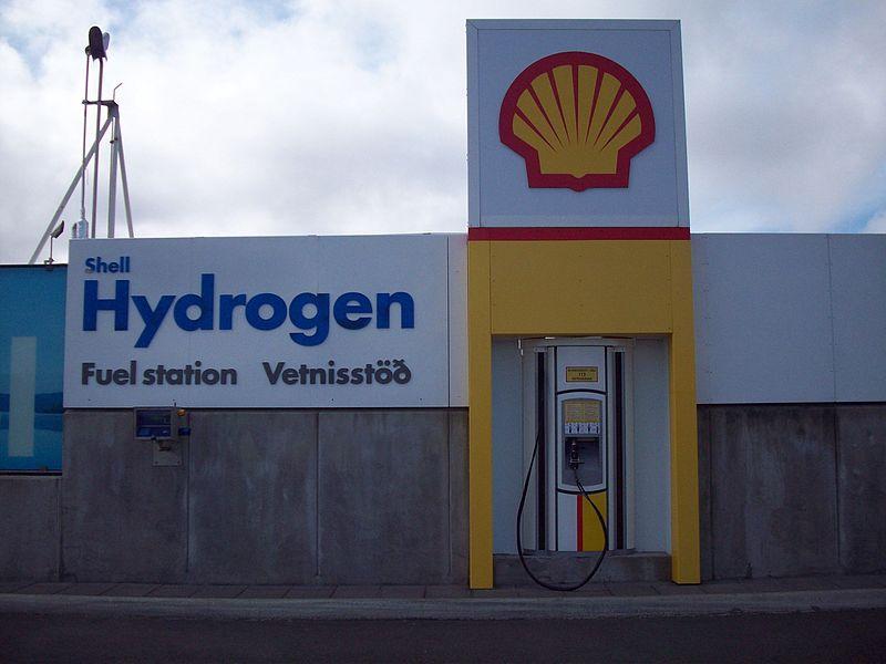 En vätgasmack i Islands huvudstad Reykjavik. Foto: Jóhann Heiðar Árnason