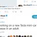 Elon Musk: Tesla bygger en minibil